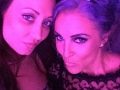 Stacey Victoria and Camille Key at the Rose Ball NYE 2015