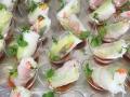 Dante Neyra's beautiful food creations at the Rose Ball NYE 2015