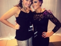Alyssa with Camille Key working behind the scenes at the Rose Ball NYE