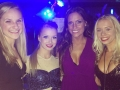 Valerie Curran of Elevate and her Dancers at the Rose Ball NYE